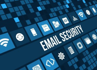 Email Security Background