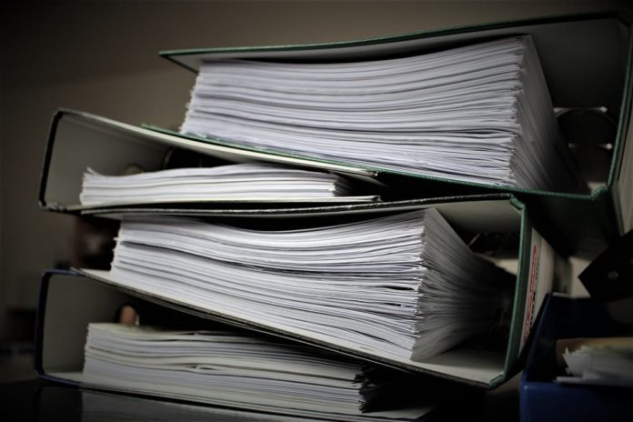 paper document management system